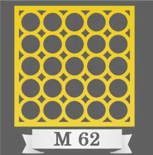 تایل سقفی دکوراتیو M62