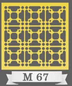 تایل سقفی دکوراتیو M67