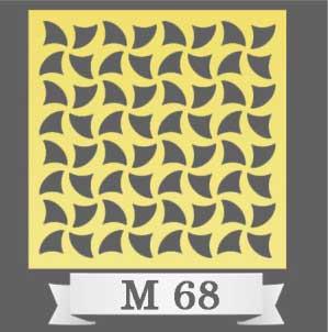 تایل سقفی دکوراتیو M68