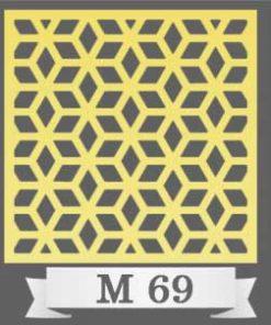 تایل سقفی دکوراتیو M69