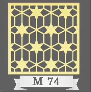 تایل سقفی دکوراتیو M74