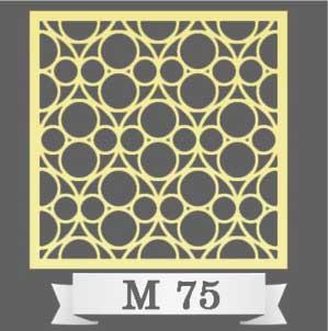 تایل سقفی دکوراتیو M75