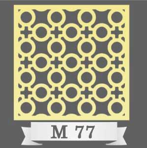 تایل سقفی دکوراتیو M77