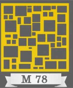 تایل سقفی دکوراتیو M78