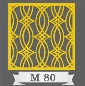 تایل سقفی دکوراتیو M80