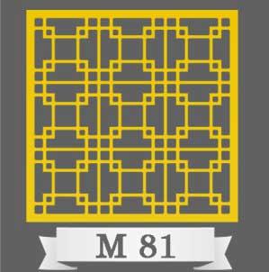تایل سقفی دکوراتیو M81