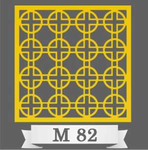 تایل سقفی دکوراتیو M82