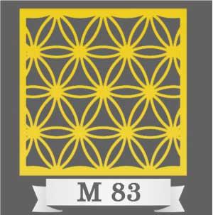 تایل سقفی دکوراتیو M83