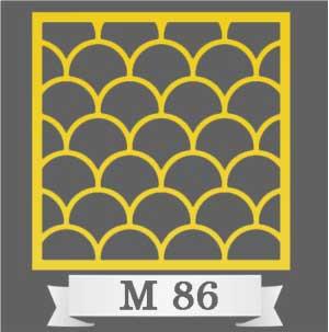 تایل سقفی دکوراتیو M86