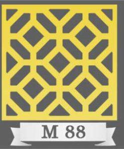 تایل سقفی دکوراتیو M88