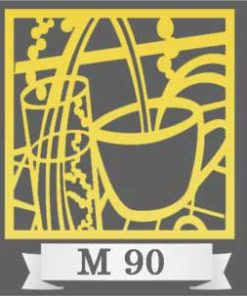 تایل سقفی دکوراتیو M90