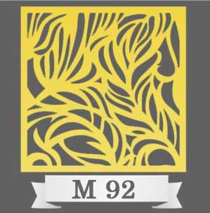 تایل سقفی دکوراتیو M92