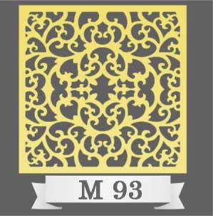 تایل سقفی دکوراتیو M93