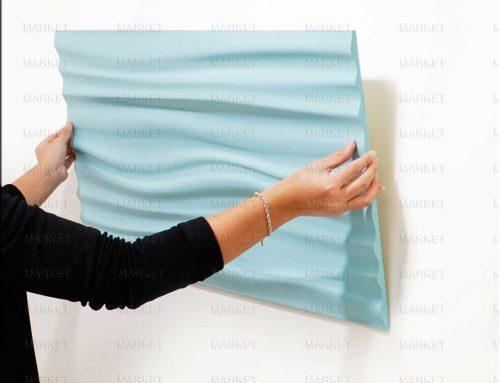 آموزش نصب دیوارپوش سه بعدی